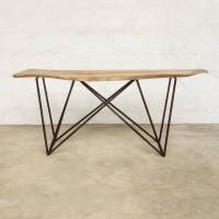 Unity Makers Prism Console Table Neem